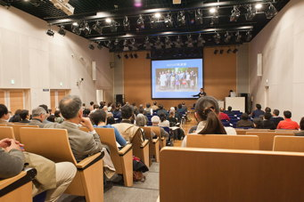 Photograph of symposium by Joanne Yu